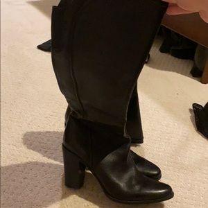 Tall Heeled Boots